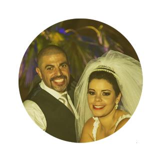 Depoimento Noivos Leandro e Paola