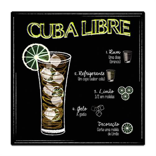 PLACA CUBA LIBRE