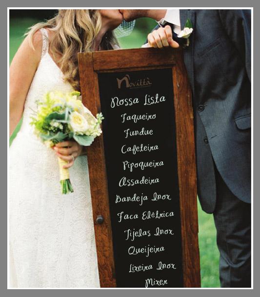 Lista de Casamento Novittà